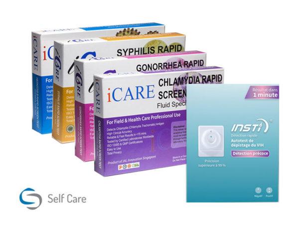Komplett paket för HIV och MST-testning